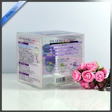 SGS Certificate plastic clear packaging box / PVC packaging box / plastic packing
