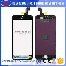 Quality AAA For iPhone 5 5G 5S LCD Touch Screen Digitizer Assembly Black White Color LCD Display Complete