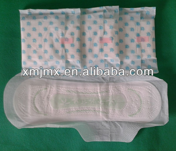 fitting and fast absorbing aloe sanitary napkins