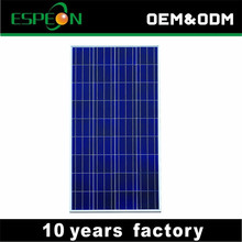For roof mounted high efficiency sun poly solar panel 250 watt