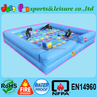 20ft mega inflatable twister, giant twister game