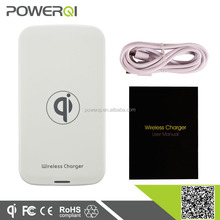 wireless mini charger qi standard for Samsung Galaxy S4