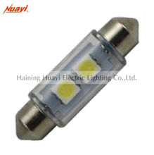 Automobile festoon bulb, smd led lamp T11X39 - 2SMD, Car - door light bulb