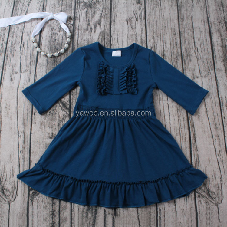 Girls dress baby girl winter fall cotton dresses fashion dreses 2017 latest frock designs