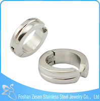 ZS14060 stainless steel earring , fashion ear clip , no hole earring