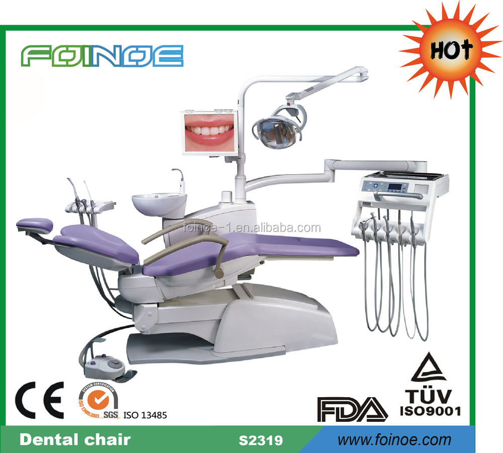 S2319 HOT selling ce approved dental chair lcd monitor