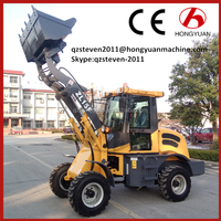 ZL15F 4WD cheap articulated mini wheel loader for sale