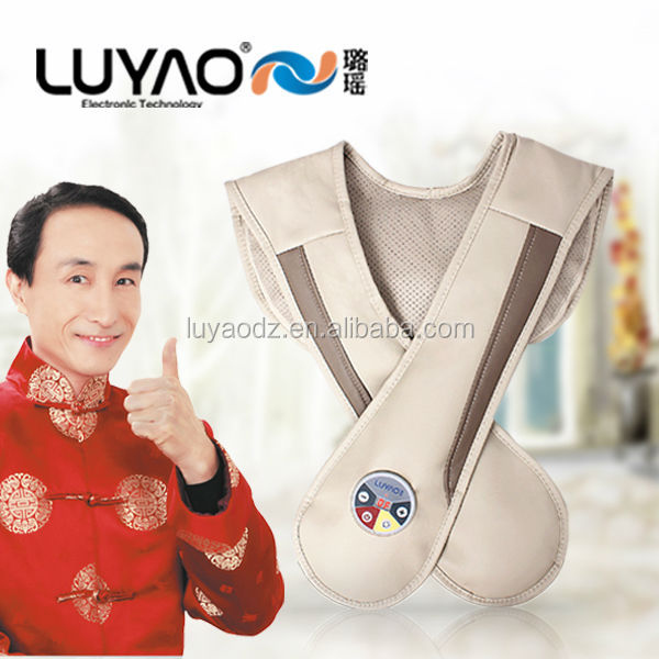 2014 LY-803S Electric Heated Neck & Shoulder Pillow ,Microcomputer Massage Belt