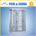outdoor steam sauna shower room for two people