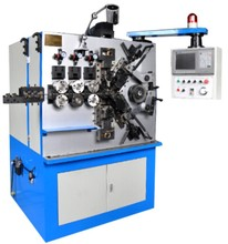 High quality CNC zigzag spring coiling forming machine with low price