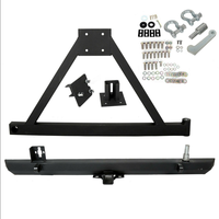 New Rear Bumper and Tire Carrier For 87-96 YJ / 97-06 TJ Jeep Wrangler