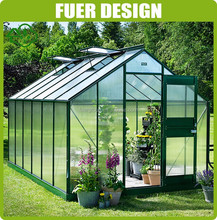 Low cost greenhouse equipment garden