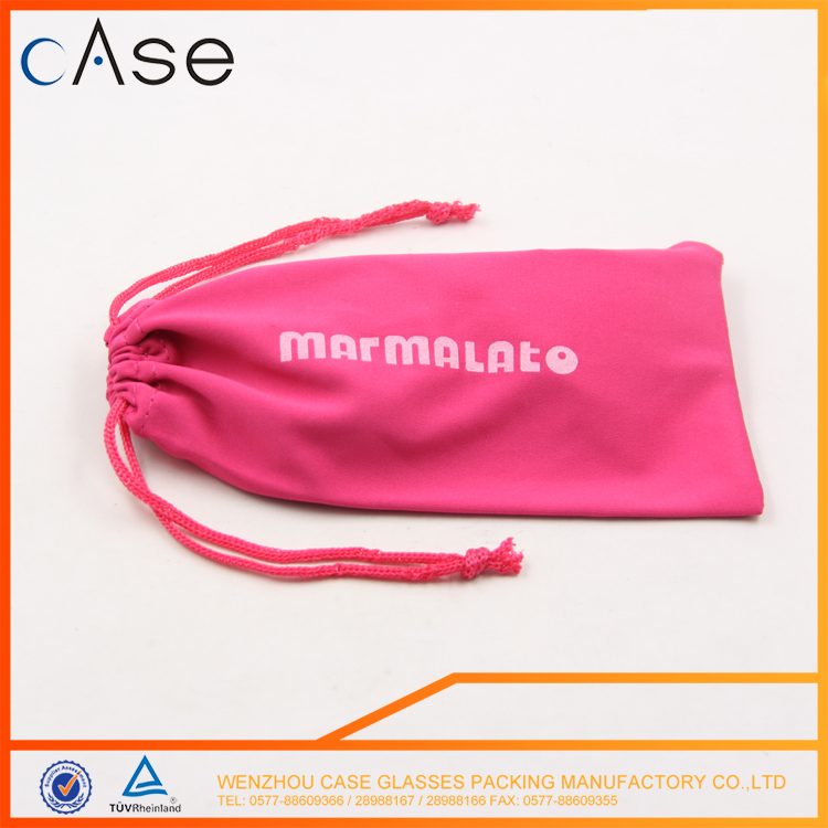 High quality Fashion design New style transparent glasses pouch