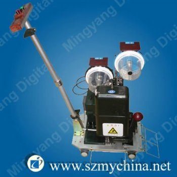 fast speed automatic grommet punching machine for PVC banner
