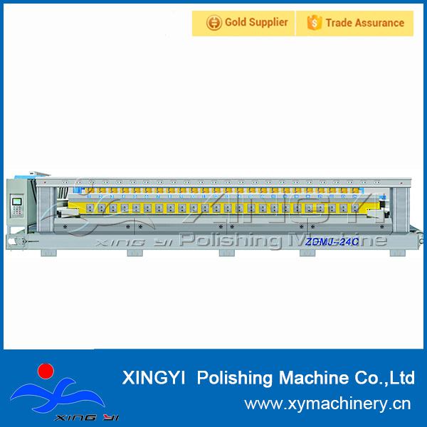 Used automatic granite and marble slab polishing machine line