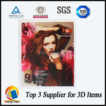 Advertising 3D lenticular naked women 3d pictures for home decoration