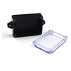 IP65 waterproof electrical junction box wall mouting plastic enclosure transparent cover
