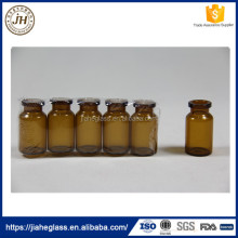 2ml 5ml 7ml 10m amber tubular glass penicillin bottle liquid medicine empty injection bottles with rubber stopper
