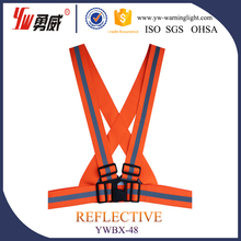 Reflective Vest Belt,elastic warning reflective belt vest,reflective belts with designs