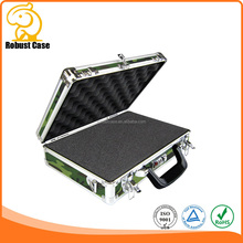 Portable durable cheap aluminum display cases with customized size