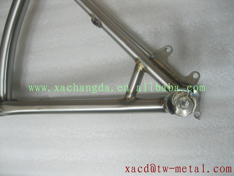 titanium mtb bike frame with thru axle dropouts xacd made titanium fat bike frame chinese titanium fat bike frame