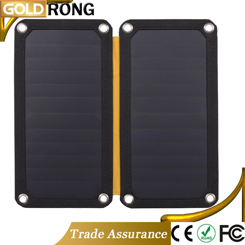 Sports Waterproof Foldable Solar Panel 13W High Efficiency Mini Solar Panel 5V Charger USB For LED Light Mobile Phone Kids Toys