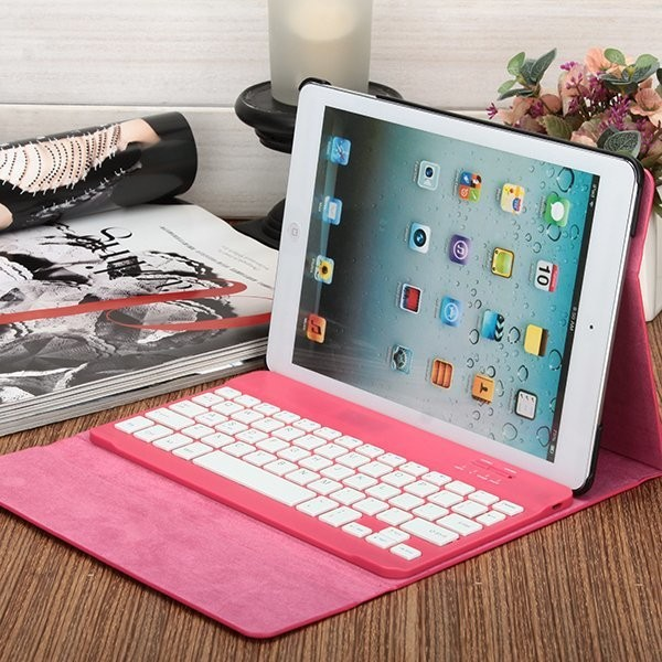 8 inch wireless Bluetooth 3.0 keyboard case for nook hd android tablet