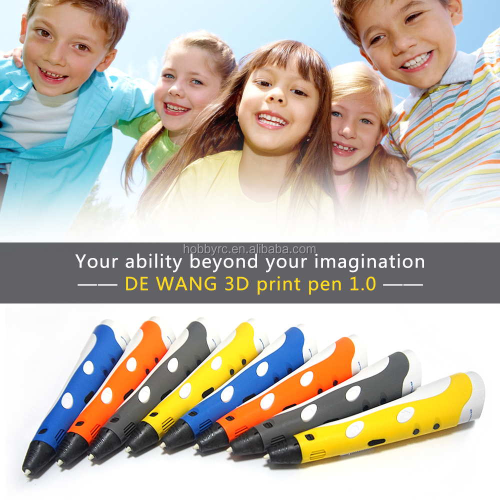 Best selling products for kids 3d printer pen new toys for kid 2016