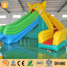 Non-Toxic Inflatable Slip And Slide Jumping Castles Inflatable Water Slide