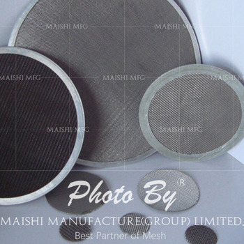 Stainless Steel Round Air Filter Wire Mesh