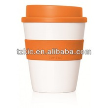 12oz screw top single wall insulated plastic coffee cups