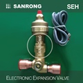 SEH-100 R134a Expansion Valve, 12VDC Stepping Motor Electronic Expansion Valve, ETS 100 100B EX Electric Control Valve