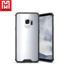Hongwang TPU PC Transparent Air Hybrid phone case for Samsung S9