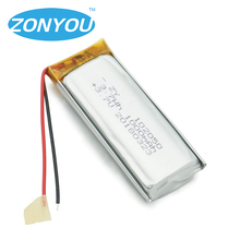 Factory Li Ion Ltihium Polymer 3.7V 102050 1000mah Lipo Battery for small fan