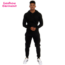 Wholesale sweat suits plain online wholesale gym tracksuits