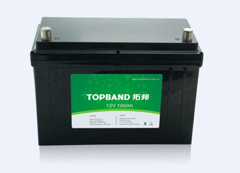 lithium ion LiFeO4 LFP battery 12V 100Ah for caravan