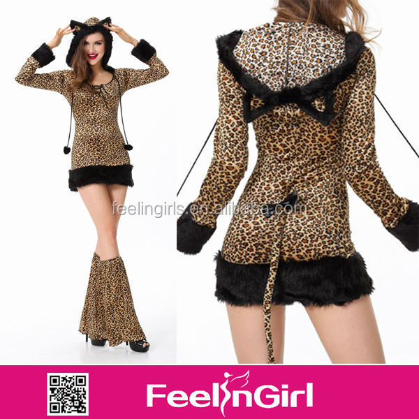 Newest High Quality Tiger Women Sex Costume Animal Costume