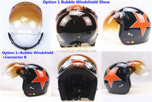 Taiwan Bubble Shield for Retro open face motorcycle helmet helmet visor