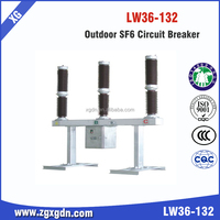 Factory High Quality High voltage LW36-66KV SF6 circuit breaker