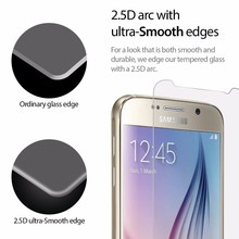 mobile phone tempered glass screen gaurds and covers for samsung s6/for iphone 6 plus glass film