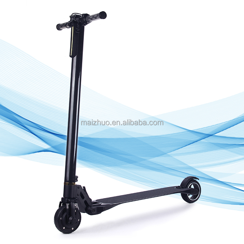 Hot sale light weight carbon fiber folding electric kick scooter for daily commute