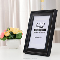 wooden funeral picture photo frame