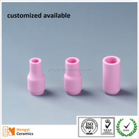 alumina ceramic nozzle for argon arc welding
