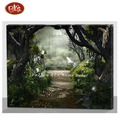 Handmade Beautiful Scenery Oil Painting on Canvas for Home Wall Decoration