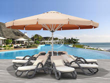 dia 5M dia6m dia7m big outdoor umbrella/hotel swimming pool umbrella/advertising sun umbrella