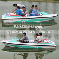 china amusement electric paddle boats for sale