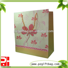 packing company luxury kraft paper shopping bag