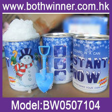 Instant snow for shopwindow decoration ,H0T006 instant snow for play field , hot selling artificial snow machines