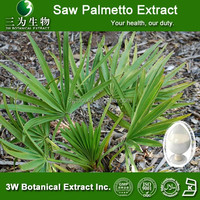 3W Factory Saw Palmetto Extract ,Saw Palmetto Berry Extract Fatty Acids 25%,45%,75%