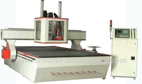 M30 timber processing center which is multi functional woodworking cnc router engraving machine